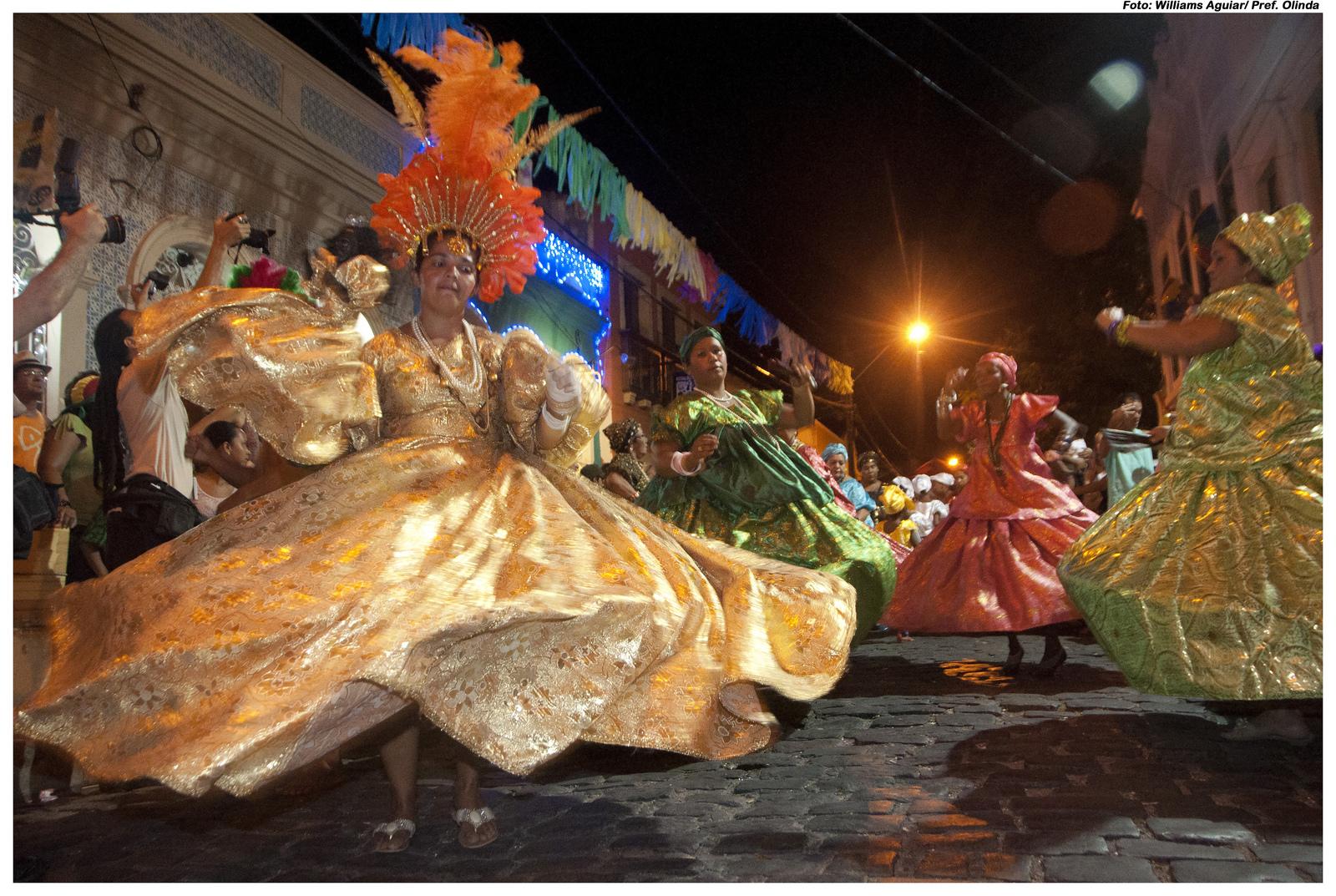 Dia Estadual do Maracatu. Foto: Williams Aguiar/Pref.Olinda