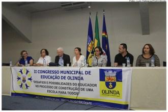 II Congresso Municipal de Educação. Foto: Luiz Fabiano/Pref.Olinda
