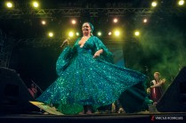 Apresentação de Karynna Spinelli no Festival Cena Brasil 2013. Foto: Pire