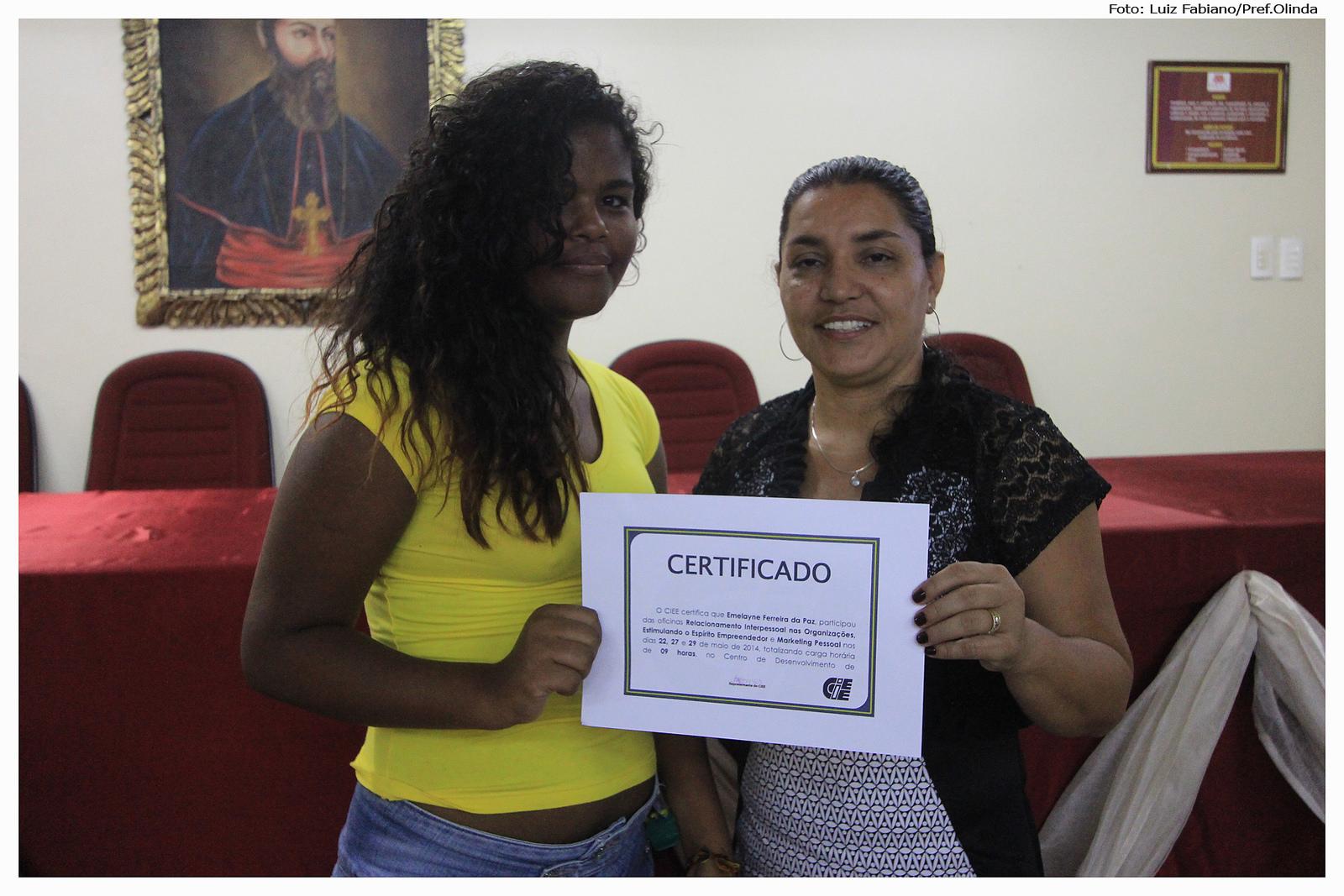 Parceria entre prefeitura e CIEE/PE. Foto: Luiz Fabiano/Pref.Olinda
