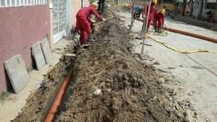 Esgotamento Sanitário. Foto: Secretaria de Obras de Olinda