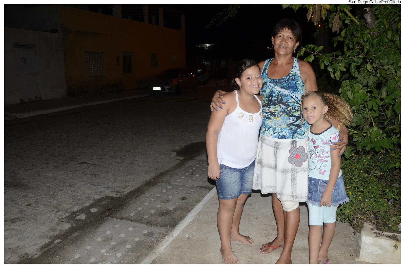 Urbanização integrada na rua Rua Francisco Fernandes da Rocha, Vila Popular. Foto: Diego Galba/Pref.Olinda