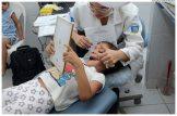 Dentista implanta projeto pioneiro de tratamento de cárie em Olinda. Foto: Diego Galba/Pref.Olinda
