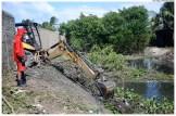 Limpeza de canais - Canal da Malária - Umuarama. Foto: Diego Galba/Pref.Olinda