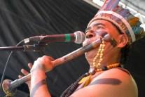 Grupo Indigena Fethxa. Foto: Jaqueline Maia