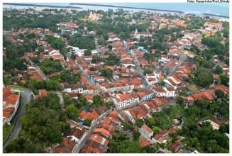Vista aérea do Sítio Histórico de Olinda. Foto: Passarinho/Pref.Olinda