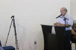 Primeira audiência sobre a revisão do Plano Diretor de Olinda. Oswaldo Lima Neto, secretário de Transporte e Trânsito de Olinda, fala sobre a revisão do Plano Diretor. Foto: Rodrigo Barradas/Pref.Olinda