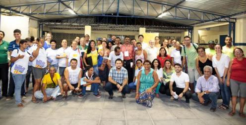 Reuniões junto à população já ocorreram em 9 bairros e comunidades: Foto: WRI Brasil