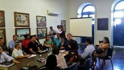 Reunião sobre a organização do Carnaval de Olinda 2017. Foto: Aline Soares/Pref.Olinda