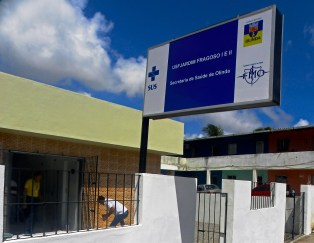 Unidade de Saúde da Família (USF) de Jardim Fragoso. Foto: Secretaria de Saúde de Olinda