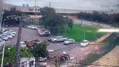 Imagens de monitoramento da via.