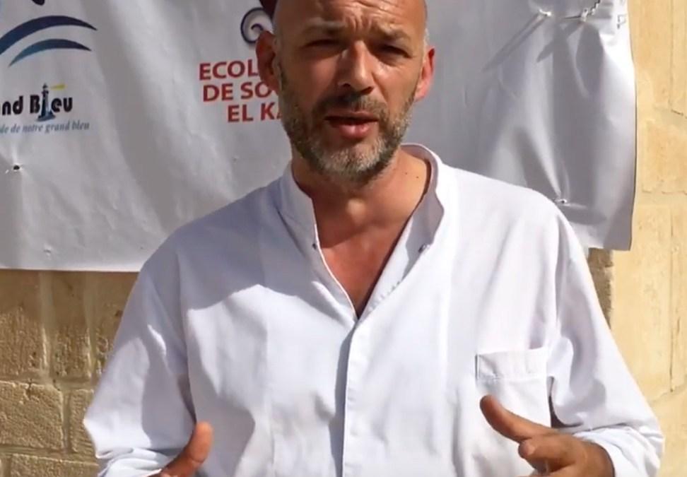 Emmanuel Perrodin, «je détestais l'huile d'olive et l'ail»…