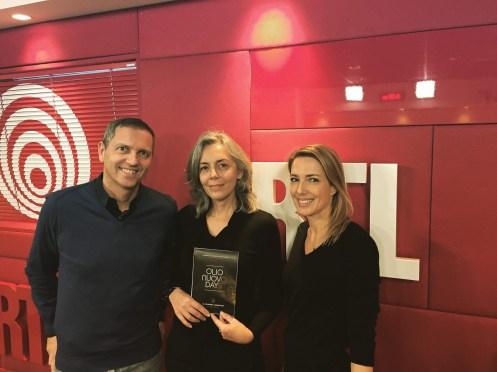 RTL Thomas Hugues, Emmanuelle Dechelette et Sidonie BONNEC