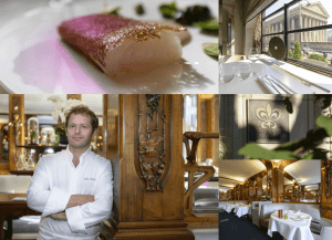 Chef Julien Dumas LUCAS CARTON-PARIS