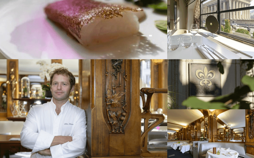 Paris' gastronomic Temple Lucas Carton pays tribute to Japanese EVOO