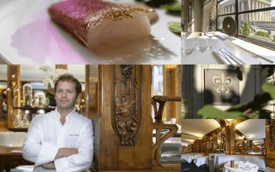 Paris' gastronomic Temple Lucas Carton pays tribute to Japanese EVOO