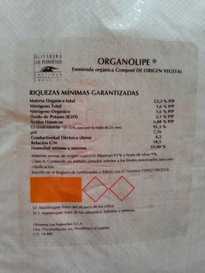 Organolipe Planta Compostaje Olivarera Los Pedroches Olivar de Sierra Aceite Ecologico Olipe Olivalle