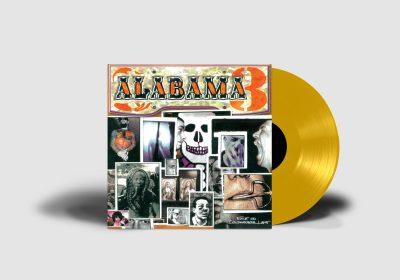 Alabama 3 - Exile- Gold Vinyl - Mockup