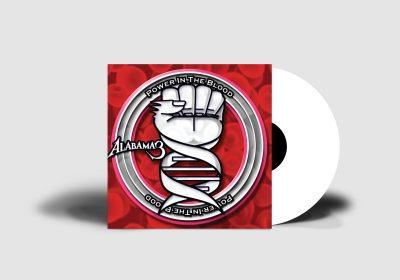 Alabama 3 - Power In The Blood - White Vinyl - Mockup