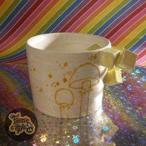 Lemon Cube Mushroom Cup
