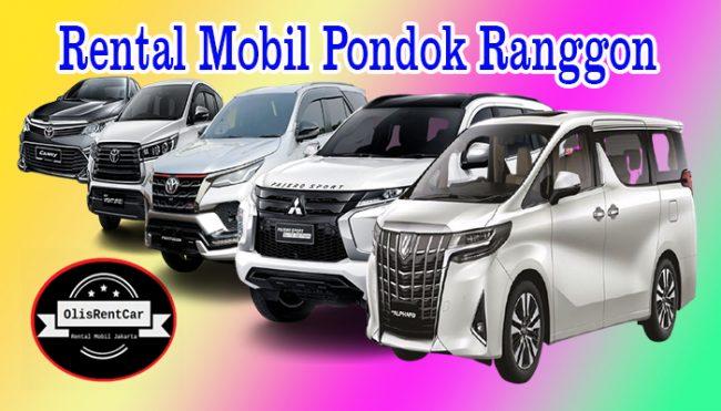 JASA SEWA RENTAL MOBIL PONDOK RANGGON JAKARTA TIMUR HARGA MURAH 24 JAM