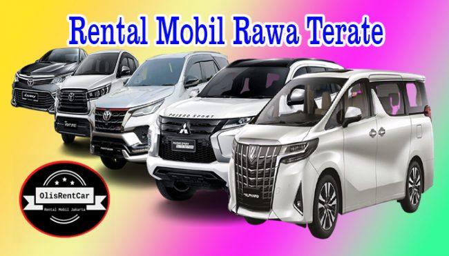 JASA SEWA RENTAL MOBIL RAWA TERATE JAKARTA TIMUR HARGA MURAH 24 JAM