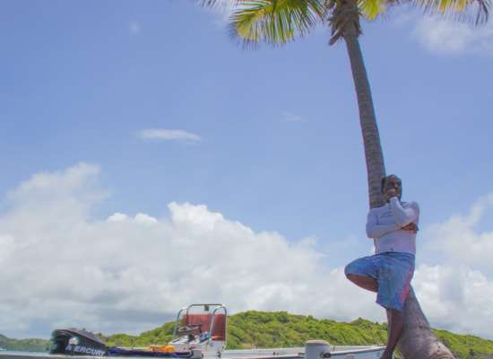 Balade en mer en Martinique avec oliv Express au François