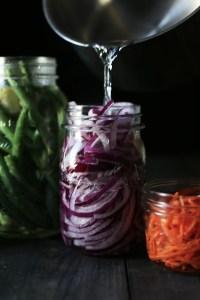 Pickled Vegetable and Tri-tip Salad