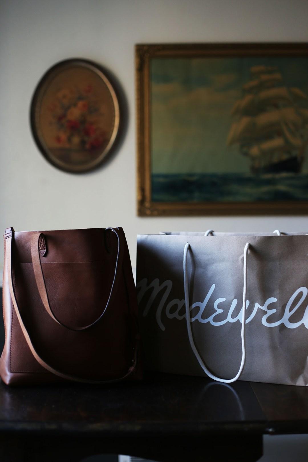 My favorite madewell bag