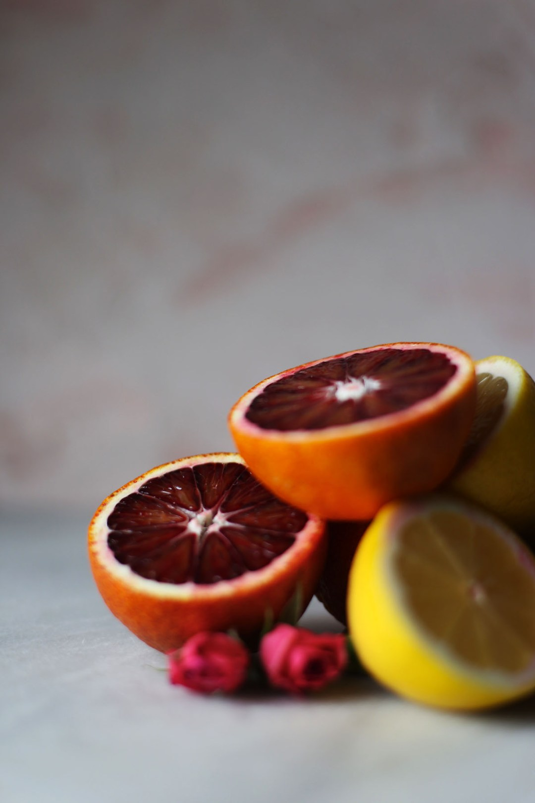 Blood Orange Lemon Squares