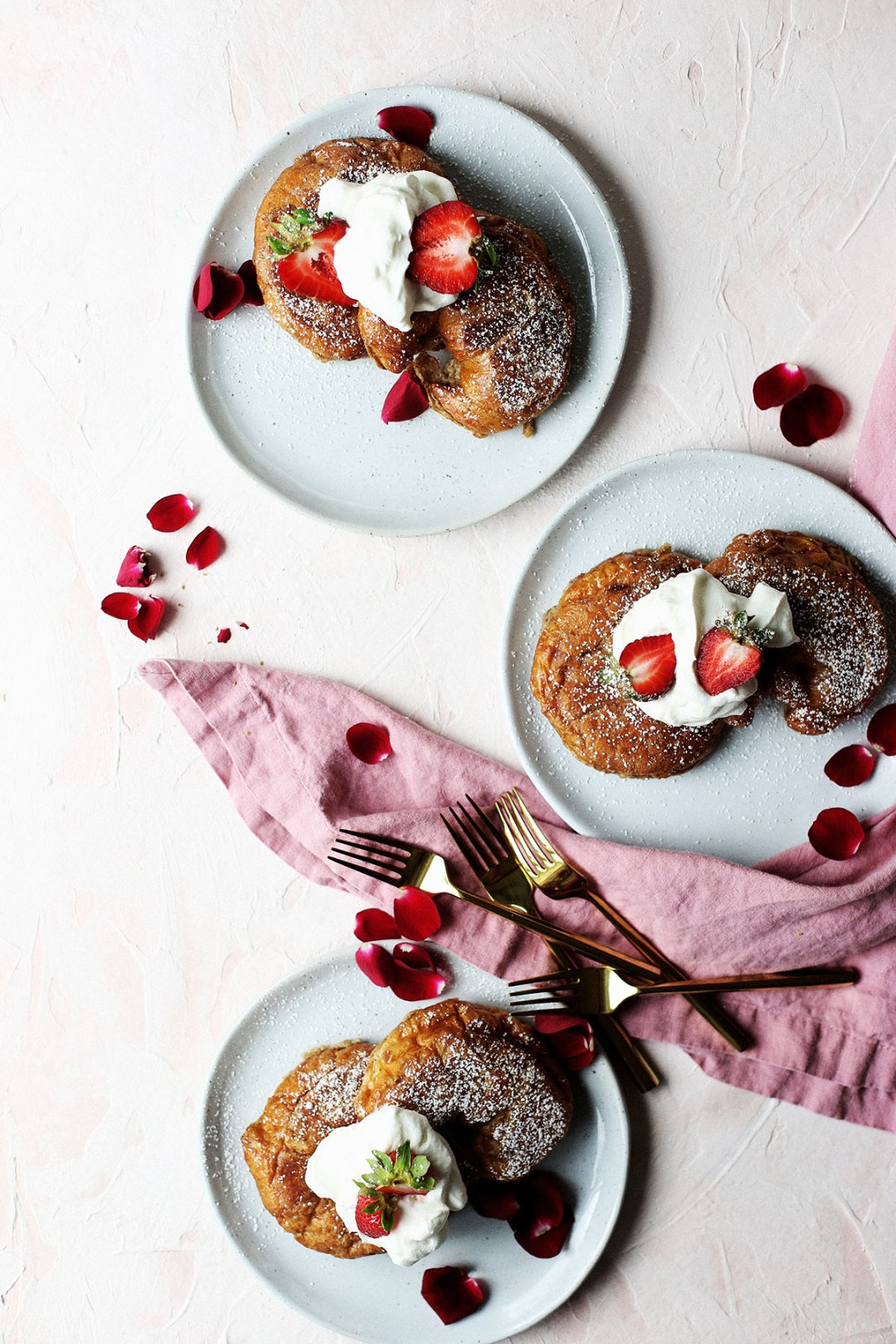 Chai Croissant French Toast