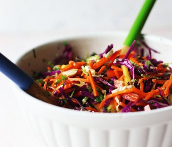 MangoTropical Rainbow Cole Slaw