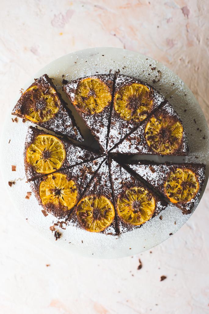 Chocolate Clementine Cake