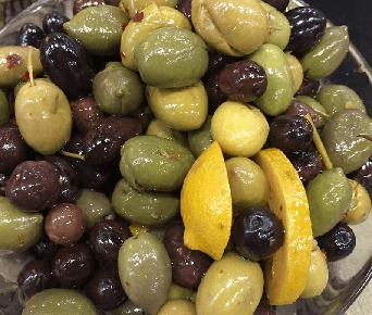 french cracked olives