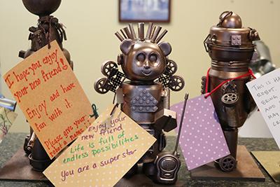 Robots Invade Olive Crest! 3