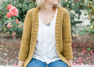 Stillwater Cardigan by Marie Greene seamless sweater