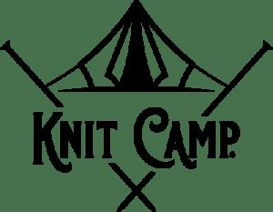 Knit Camp logo - registered trademark