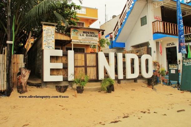 perjalanan ke EL NIDO