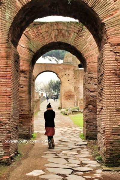 masuk ke Colosseum
