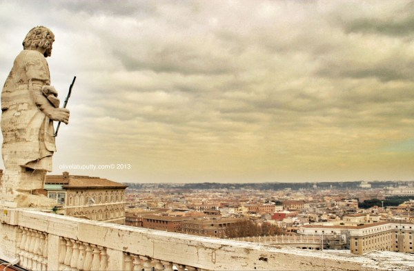 jalan ke Vatican City