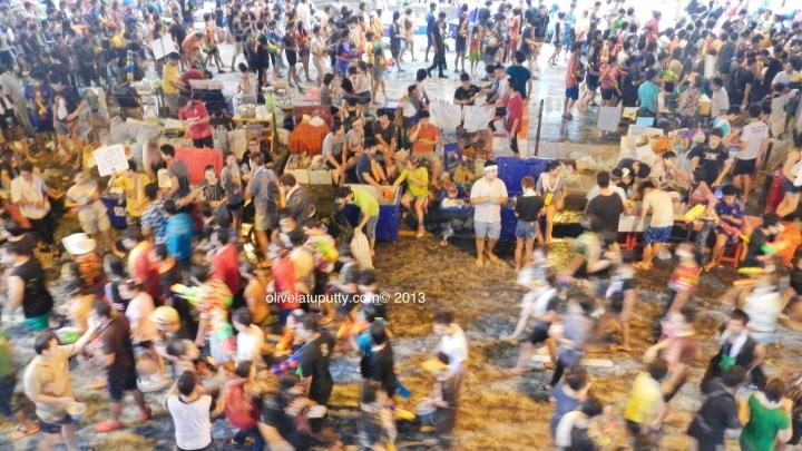 pengalaman songkran di Bangkok