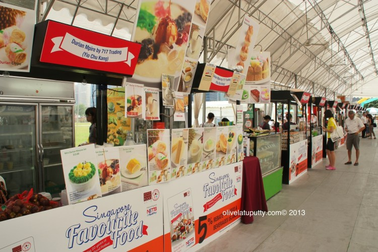 the stalls