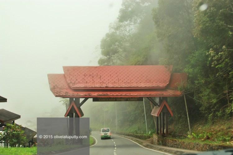 jalan-jalan di gunung Kinabalu