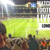 Nonton Liga Inggris Live di London... First Timer Story