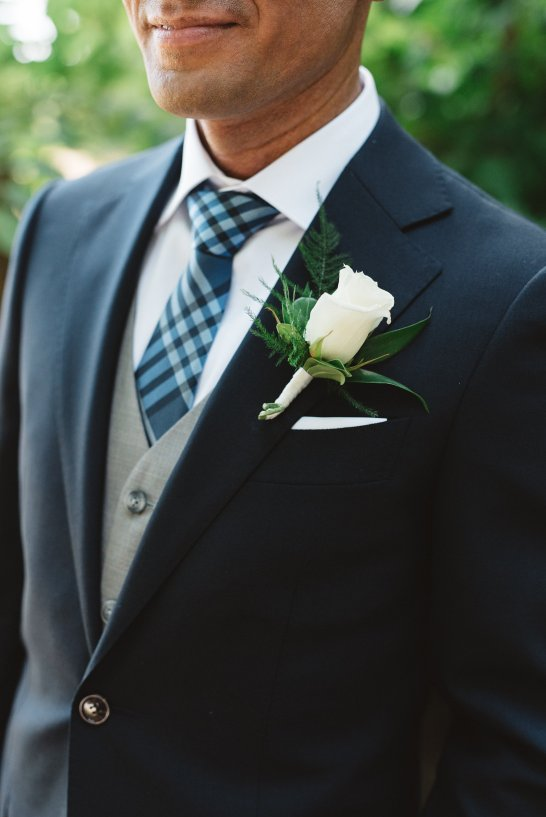 Rose Boutonniere | Olive Photography Toronto