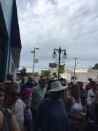 Big Crowd for Michael Sullivan