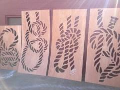 Mariner Knot Stencils