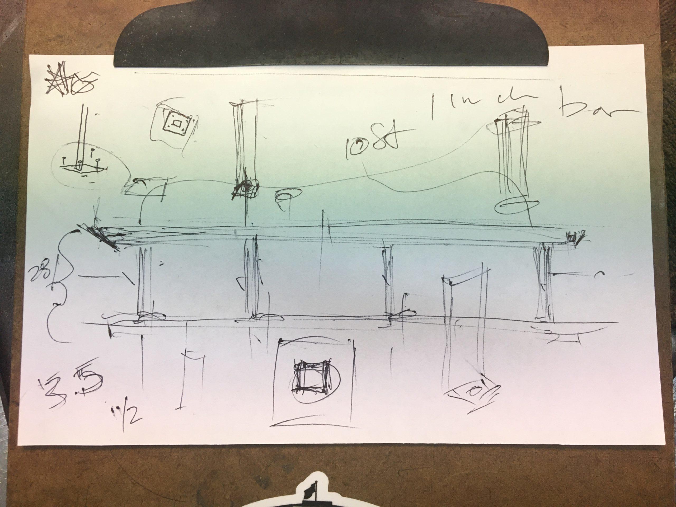 Rough Design Sketch