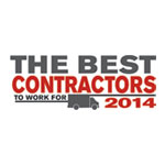 2014 Best Contractor to Work For by the ACHR News
