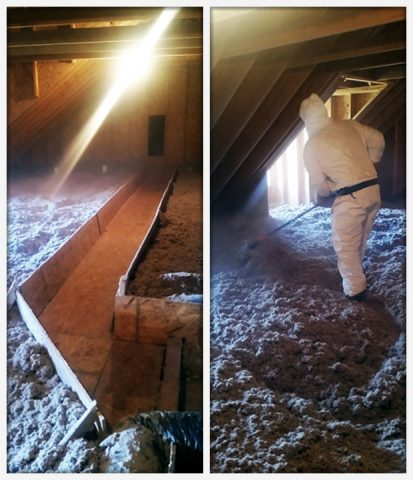 Blown in insulation oliver heating cooling plumbing get an estimate to install blown in insulation in your attic solutioingenieria Gallery